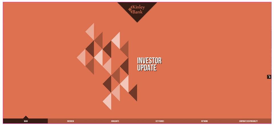 5 reasons to switch from powerpoint slide decks to html5 web decks web investor update presentation template toneelgroepblik Gallery