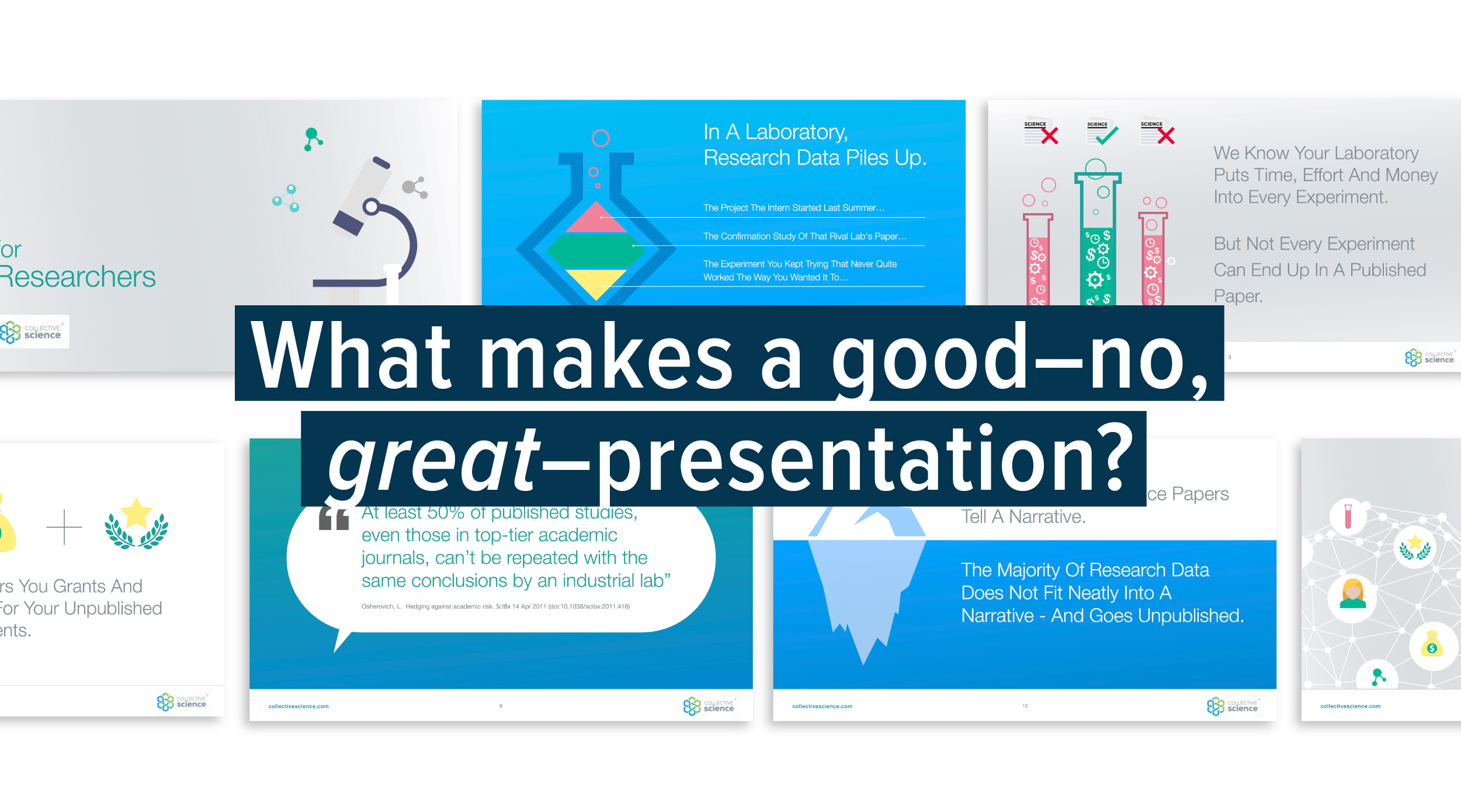 what makes a great keynote or powerpoint presentation conceptdrop
